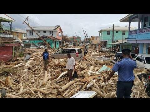 Puerto Rico Totally Devastated By Hurricane Maria