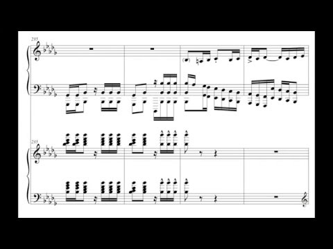 "STAR WARS VII: ""The Jedi Steps and Finale"" for Two Pianos (Audio + Sheet Music)"
