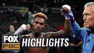 Jermell Charlo KO's Jorge Cota in 3rd round with back-to-back knockdowns | HIGHLIGHTS | PBC on FOX