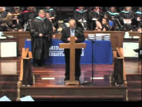 The 2013 Middletown Christian Schools Commencement Ceremony