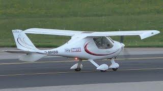 Flight Design CTSW takeoff at Graz Airport   D-MHBB