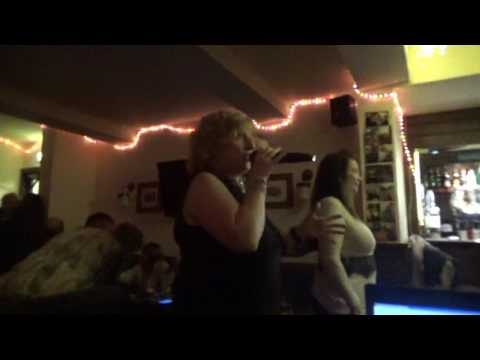Janice Duncan Singing Proud Mary at the Ship Inn