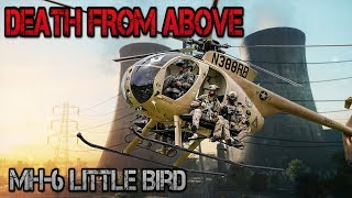 Airsoft MH-6 Little Bird Air Support - Abandoned Nuclear Facility - Rescuing The Pilot