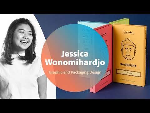 Live Graphic and Packaging Design with Jessica Wonomihardjo - 1 of 3