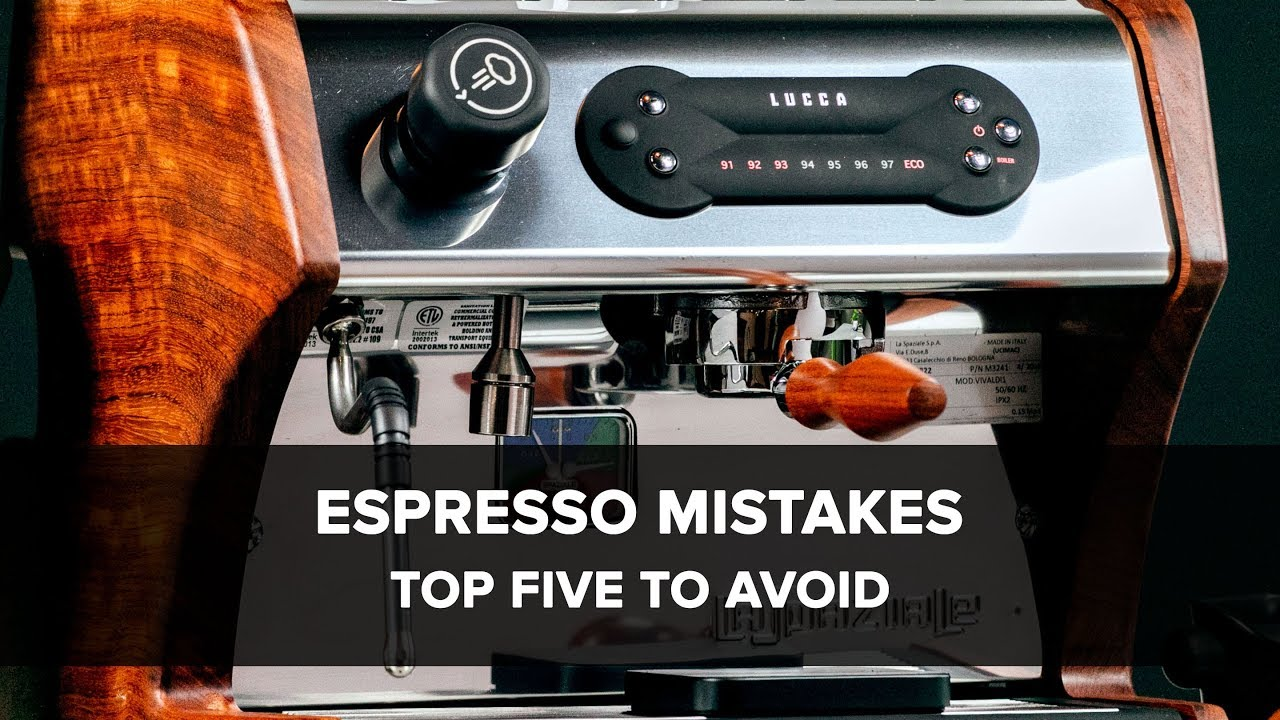 The top 10 mistakes new home baristas make – Clive Coffee