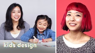 Isabelle Designs a Crazy New Look for her Mom! | Kids Design | HiHo Kids