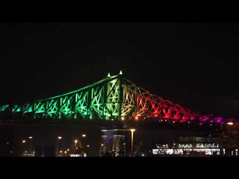 Illumination | Pont Jacques Cartier | Montréal