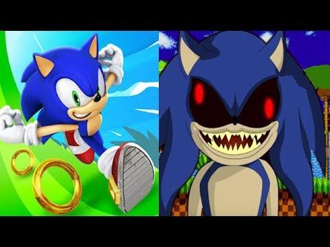 Sonic Dash Vs SONIC EXE Crazy Edition