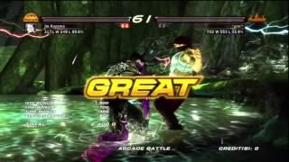 Tekken6 Jin kazama Acade Playthrough