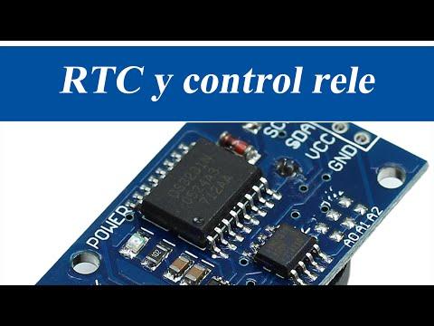 RTC controla a un rele   RincónIngenieril