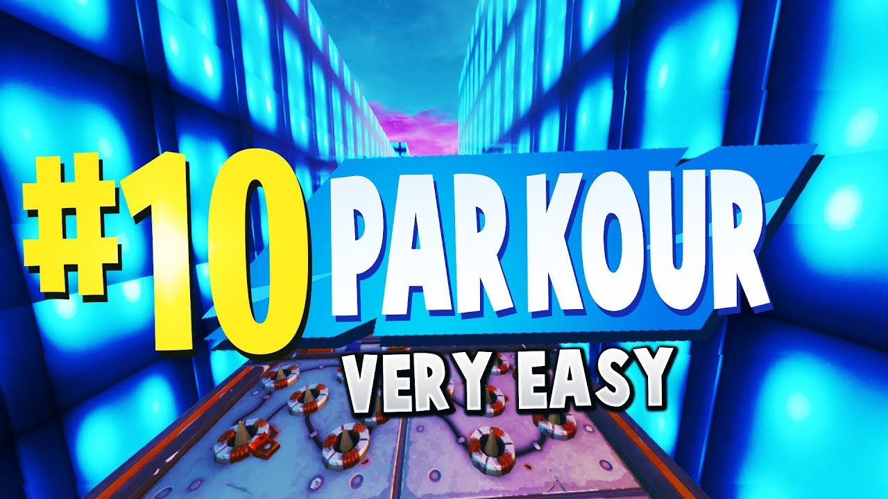 TOP 10 EASY PARKOUR Creative Maps In Fortnite | Fortnite ...