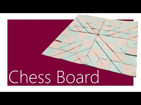 Chess Board Origami Tutorial