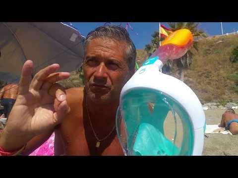 Review Snorkeling mask EASYBREATH Decathlon