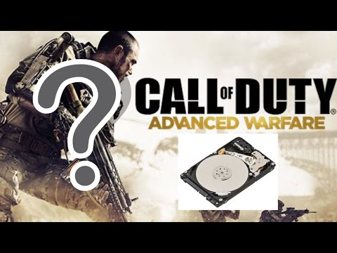 COD Advance Warfare Takes How Much Hard Drive Space?