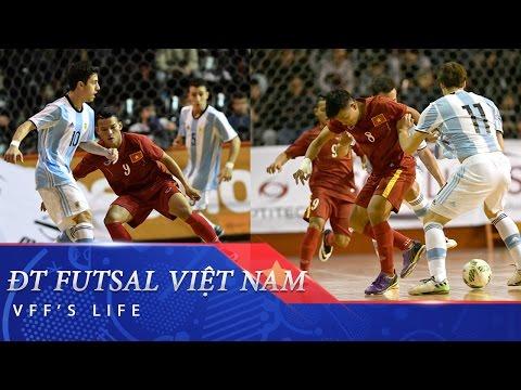 GIAO HỮU QUỐC TẾ: FUTSAL VIỆT NAM 1-3 FUTSAL ARGENTINA