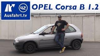 1995 Opel Corsa B 1.2 45 PS Grand Slam - Fahrbericht der Probefahrt, Test, Review (Corsa, Corsa