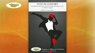 Toto In Concert - Concert Band - Paich/Porcaro/Lukather/Lynch - Asanger - Tierolff
