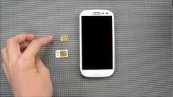 Handymovie: Samsung Galaxy S3- Akku/Sim-Wechsel