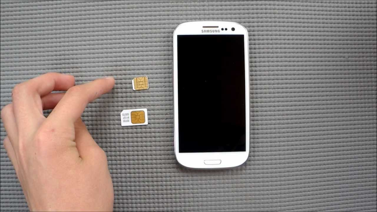 Handymovie Samsung Galaxy S3 Akku Sim Wechsel Youtube