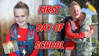 FIRST DAY OF SCHOOL! Jackson Goes To Kindergarten! ? (Emotional)