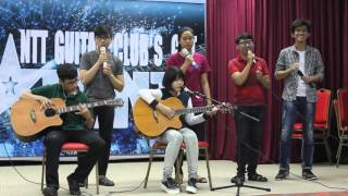 Rumour Has It - Someone Like You - Team 2 - NTT Guitar Club's Got Talent 10/01/2016
