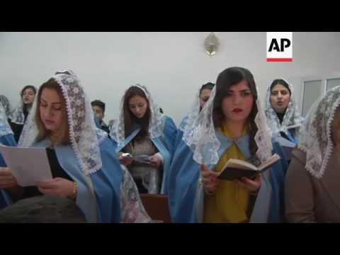 Armenian Christians celebrate Christmas Day