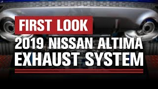 homepage tile video photo for First Look | 2019 Nissan Altima Exhaust System | STILLEN®