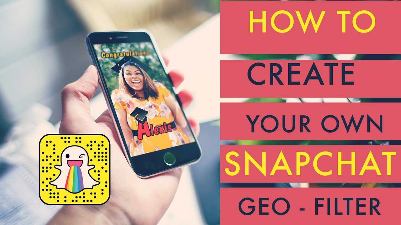 How To Make Custom Snapchat Filters In Photoshop Illustrator