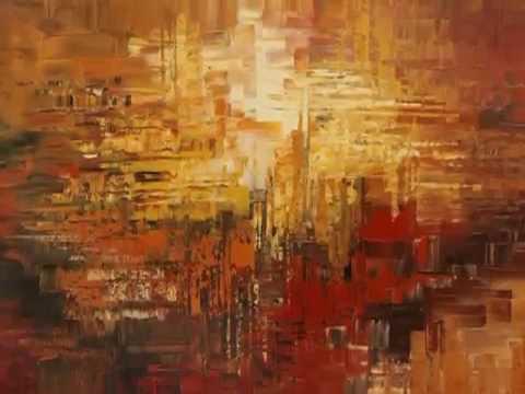 Abstract Paintings by Tatiana Iliina - YouTube