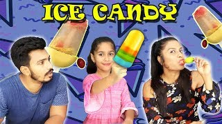 Colourful Ice Candy I Kid making Ice- Candy in Hindi I Super Duper Easy Ice-Cream