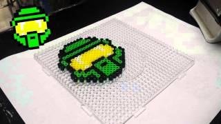 Halo Perler Pixel Art -Perler Beads - Hamma Beads