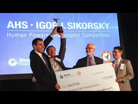 U of T Engineering Grads Win Sikorsky Prize