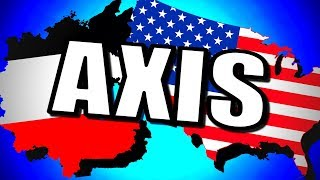USA & Germany Axis! (Unholy Alliance) | Hearts of Iron 4 [HOI4]