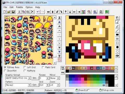 Tutorial Lunar Magic Cambiar Sprites Super Mario World 2018