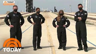 Final Members Of SpaceX Inspiration4 Crew Revealed Exclusively On TODAY | TODAY