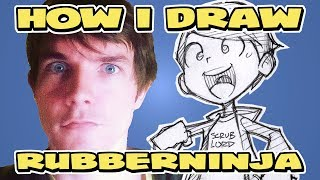 RubberNinja | Ross O'Donovan  | How I Draw