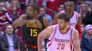 Al Horford Duels Dwight Howard in Houston
