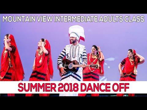 Mountain View Intermediate Adults Class - 2018 Summer Dance Off