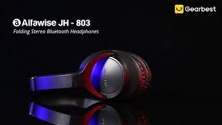 Alfawise JH - 803 Folding Stereo Bluetooth Headphones with FM Radio & Mic - Gearbest.com