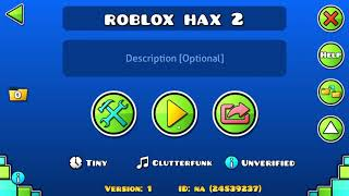 Playing roblox levels in geometry dash