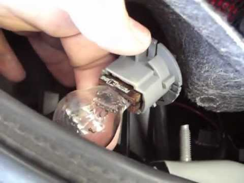 Main Third Brake Light Bulbs Replacements On Nissan Altima 2001