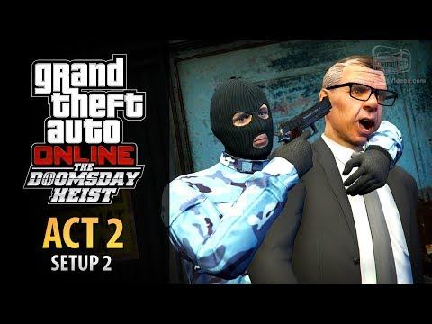 GTA Online: Doomsday Heist Act #2 - Setup: Rescue ULP (Elite & Mastermind II)