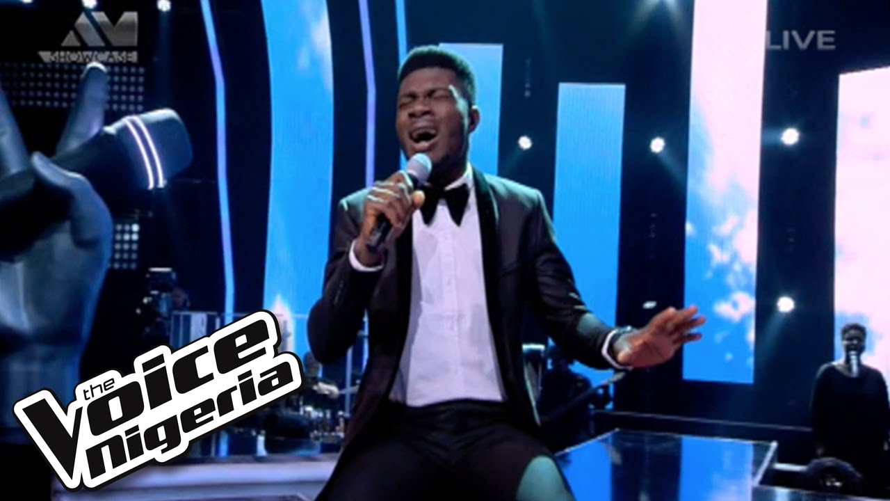 """Download David Operah sings """"I Believe I Can Fly"""" / Live Show / The Voice Nigeria 2016"""