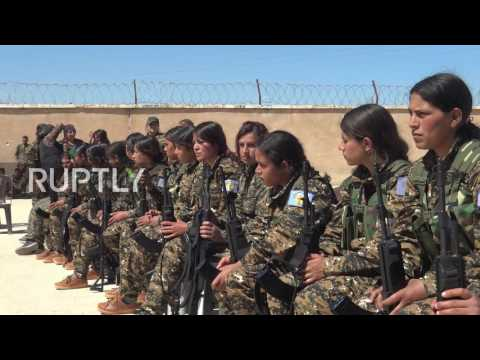 Syria: Thirty female fighters pass training to join Manbij Military Council