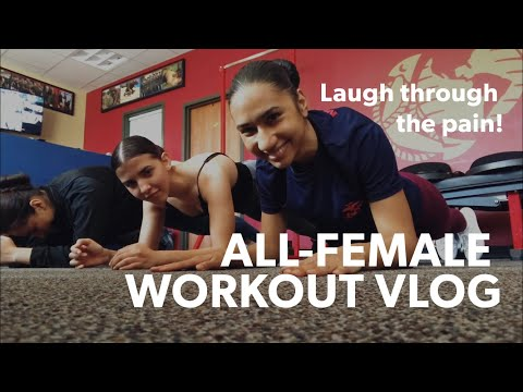 USMC Poolee Workout Vlog (Continued...) | Female Marines in the Making