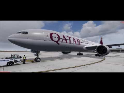 Prepar3D V3 3 l PMDG777 l QATAR l QTR845 l Kuala Lumpur (WMKK/KUL) - Doha Hamad (OTHH/DOH)