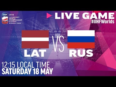 Latvia Vs. Russia | Full Game | 2019 IIHF Ice Hockey World Championship
