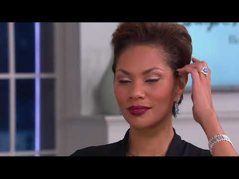 Carolyn Pollack Sterling Silver Jade Cabochon Dangle Earrings on QVC