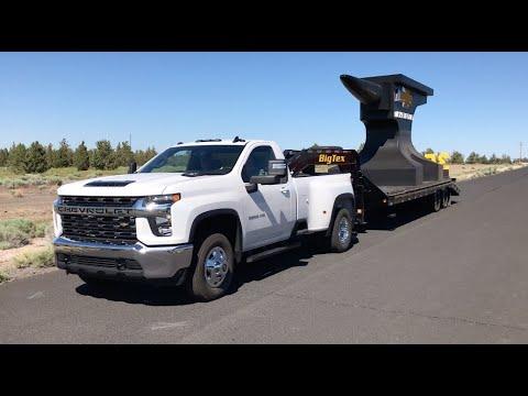 2020 Chevy Silverado 3500 6.6-liter Duramax diesel - YouTube