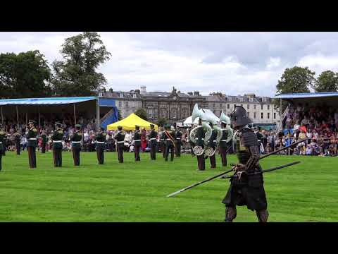 Perth Salute 2017 - Japan Ground Self-Defence Force Central Band display, Perthshire, Scotland